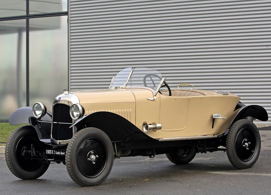 10 HP Type B2 Torpédo Sport Caddy 1923 successeur du Type A