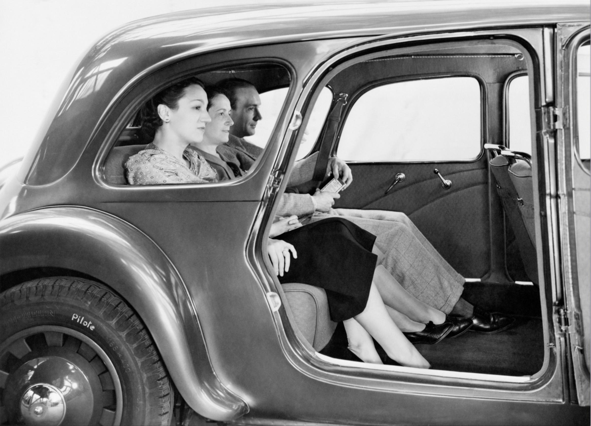 Traction 11B Chauffeur-Limousine 1938