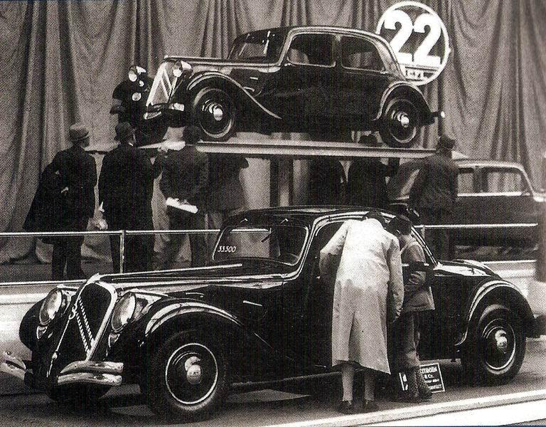 Traction 22 Coupé 1934