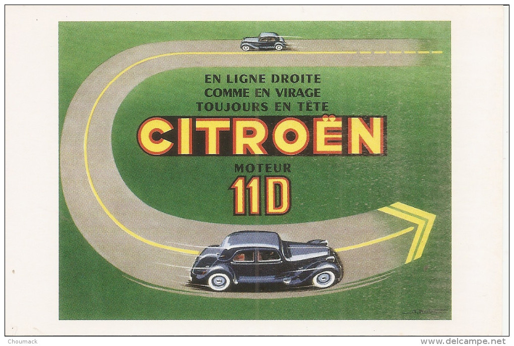 Traction 11D Werbung 1955
